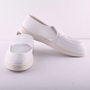 Anti static ESD Cleanroom PVC Mesh Autoclavable Shoes