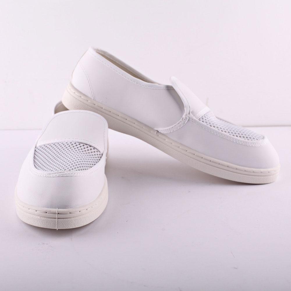 Anti static ESD Cleanroom PVC Mesh Autoclavable Shoes