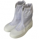 PVC PU Safety Shoes Anti-static ESD Cleanroom Half-Length Boots CH-1831