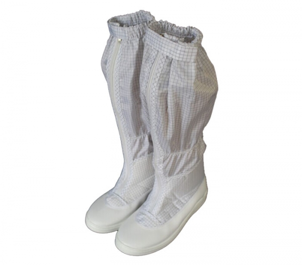 PVC PU Work Shoes Safety Anti-static ESD Cleanroom Boots CH-1832